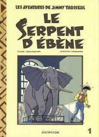 Couverture de l'album Jimmy Tousseul - 1. Le Serpent d'ébène