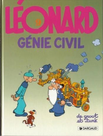 Couverture de l'album Léonard - 9. Génie civil