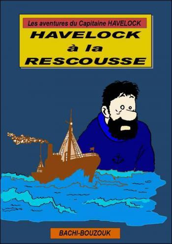 Couverture de l'album Tintin (Pastiches, parodies et pirates) - HS. Havelock à la rescousse