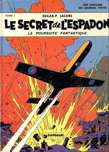 Couverture de l'album Blake et Mortimer (Dargaud et Le Lombard) - 1. Le Secret de l'Espadon I
