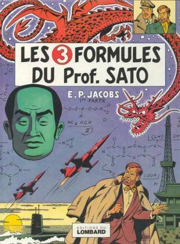 Couverture de l'album Blake et Mortimer (Dargaud et Le Lombard) - 10. Les 3 Formules du prof. Sato I - Mortimer à Tokyo
