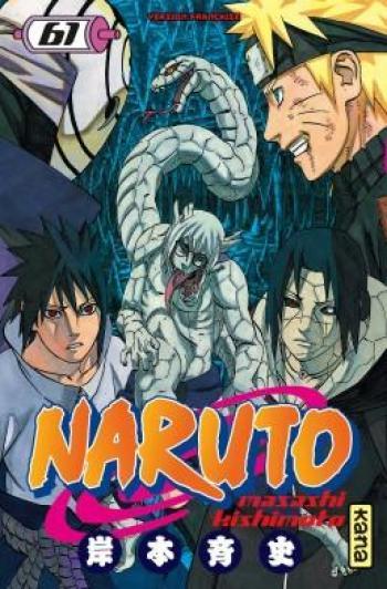 Couverture de l'album Naruto - 61. Tome 61