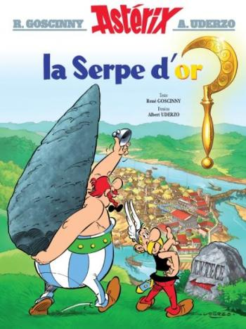 Couverture de l'album Astérix - 2. La Serpe d'or