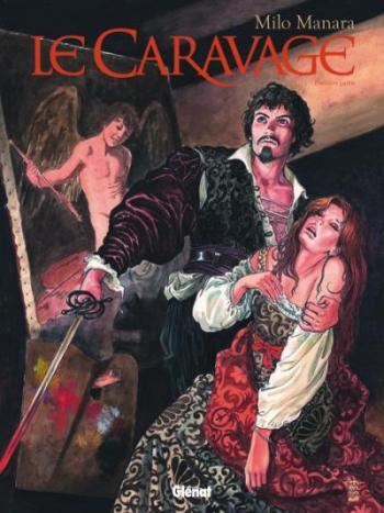 Couverture de l'album Le Caravage - 1. La Palette et l'Épée