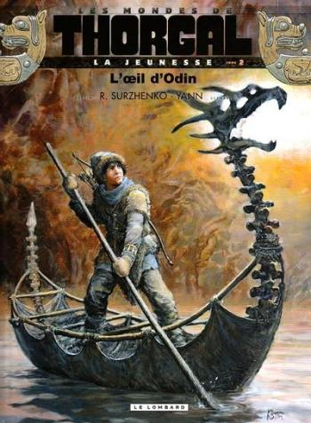Couverture de l'album Les Mondes de Thorgal - La Jeunesse - 2. L'Oeil d'Odin