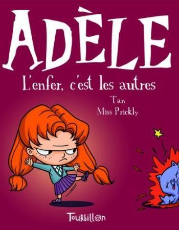 Couverture de l'album Mortelle Adèle - 2. L'enfer, c'est les autres