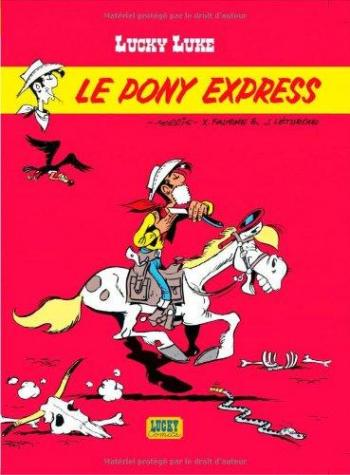 Couverture de l'album Lucky Luke - 59. Le Pony Express