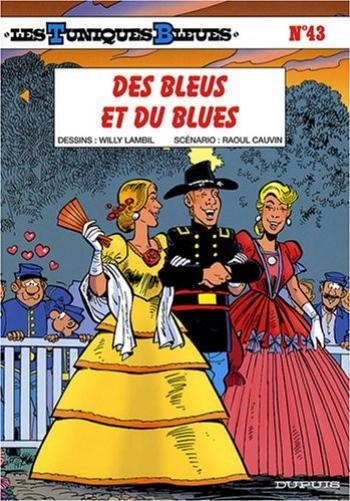 Couverture de l'album Les Tuniques bleues - 43. des bleus et du blues