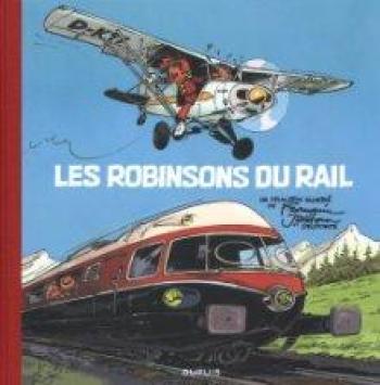 Couverture de l'album Spirou et Fantasio - HS. Les Robinsons du rail