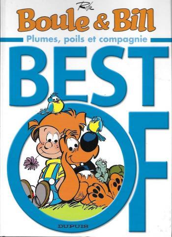 Couverture de l'album Boule & Bill (dès 2000) - HS. Best of - Plumes, poils et compagnie