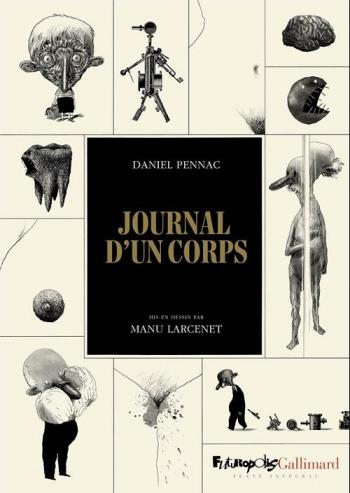 Couverture de l'album Journal d'un corps (One-shot)