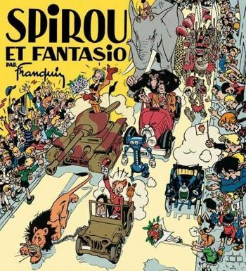 Couverture de l'album Spirou et Fantasio - HS. Spirou et Fantasio par Franquin