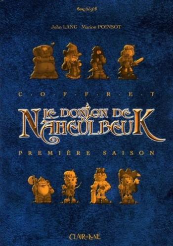 Couverture de l'album Le Donjon de Naheulbeuk - COF. Première saison
