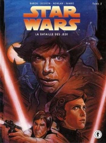 Couverture de l'album Star Wars - Le Cycle de Thrawn (Dark horse) - 5. La Bataille des Jedi II