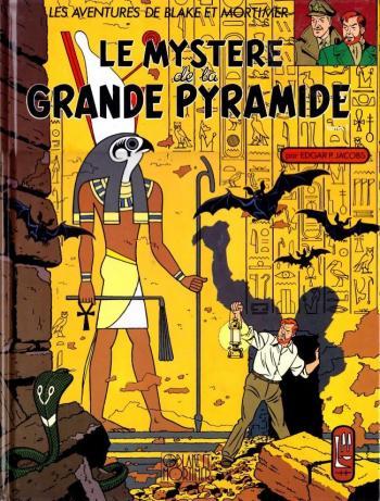 Couverture de l'album Blake et Mortimer (Blake et Mortimer) - 4. Le Mystère de la Grande Pyramide I