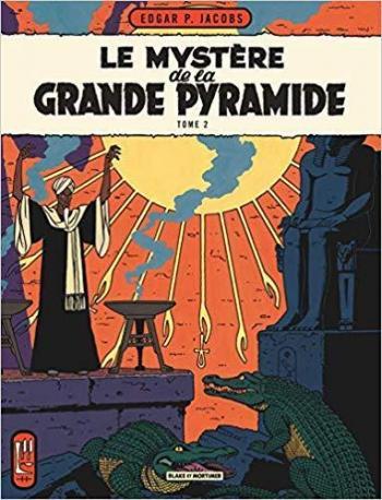 Couverture de l'album Blake et Mortimer (Blake et Mortimer) - 5. Le Mystère de la Grande Pyramide II