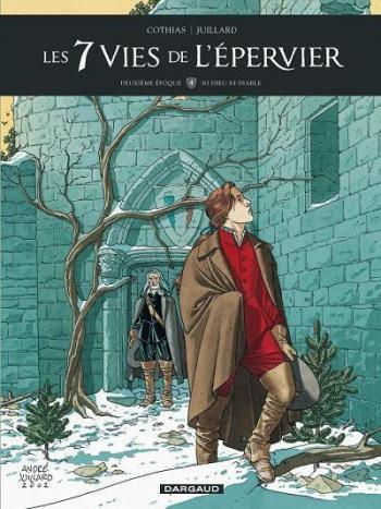 Couverture de l'album Plume aux vents (Les 7 Vies de l'Épervier - Deuxième Époque) - 4. Ni dieu ni diable