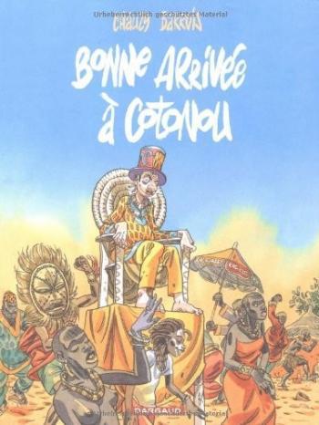 Couverture de l'album Bonne arrivée à Cotonou (One-shot)