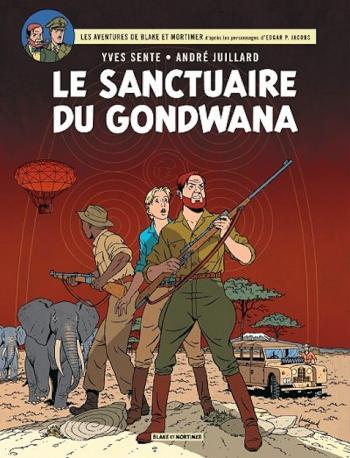 Couverture de l'album Blake et Mortimer (Blake et Mortimer) - 18. Le Sanctuaire du Gondwana