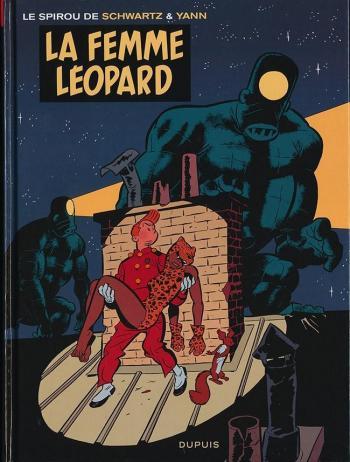 Couverture de l'album Une aventure de Spirou et Fantasio par... (Le Spirou de…) - 7. La Femme léopard