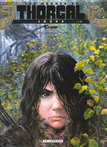Couverture de l'album Les Mondes de Thorgal - Louve - 4. Crow