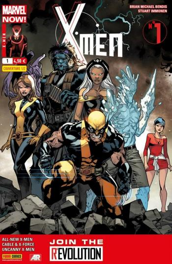 Couverture de l'album X-Men (V4) - 1. Une nouvelle révolution