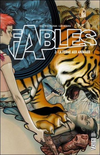 Couverture de l'album Fables (Edition cartonnée) - 2. La ferme des animaux