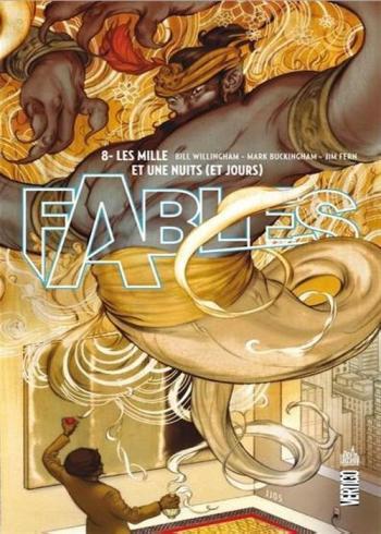 Couverture de l'album Fables (Edition cartonnée) - 8. Les mille et une nuits (et jours)