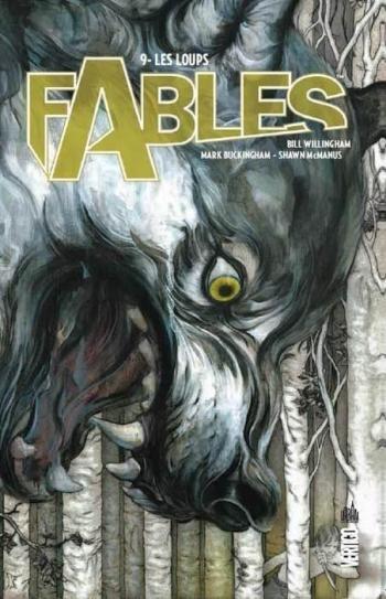 Couverture de l'album Fables (Edition cartonnée) - 9. Les loups