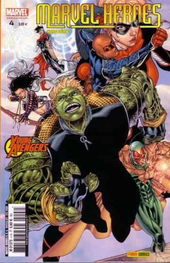Couverture de l'album Marvel Heroes - Hors Série (V2) - 4. Les Jeunes Vengeurs