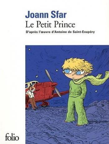 Couverture de l'album Le Petit Prince (Sfar) (One-shot)