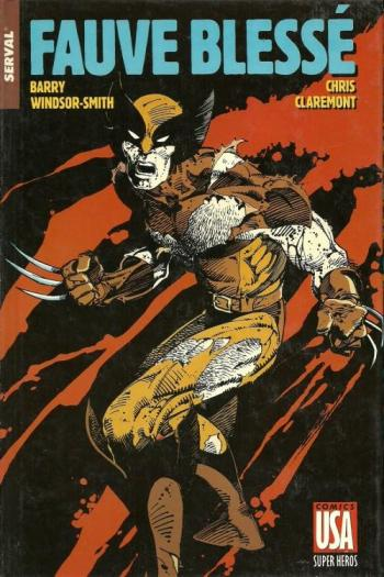 Couverture de l'album Super-héros (Comics USA) - 11. Serval : Fauve blessé / Daredevil : Rêve américain