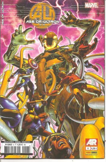 Couverture de l'album Age of ultron - 6. Age of Ultron 6/6