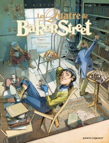 Couverture de l'album Les Quatre de Baker Street - 5. La Succession Moriarty