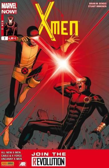 Couverture de l'album X-Men (V4) - 2. X-Men d'hier