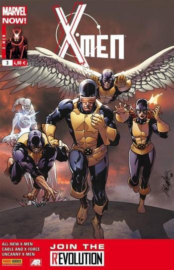Couverture de l'album X-Men (V4) - 3. Morts ou vifs