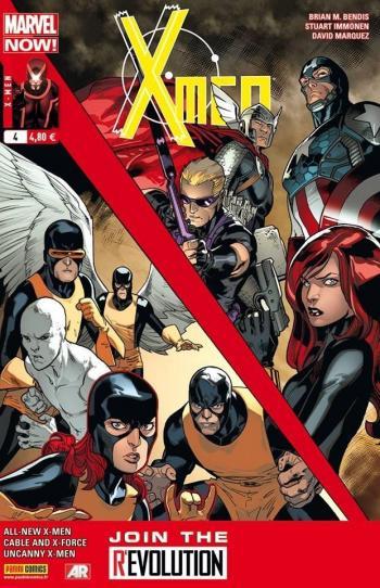 Couverture de l'album X-Men (V4) - 4. Quand je serai grand