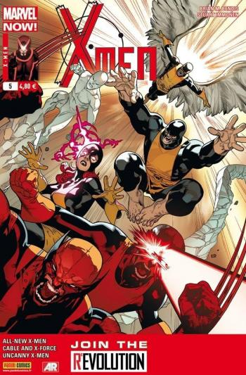 Couverture de l'album X-Men (V4) - 5. Choisis ton camp