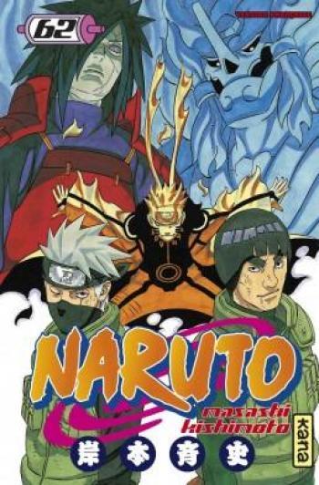 Couverture de l'album Naruto - 62. Tome 62
