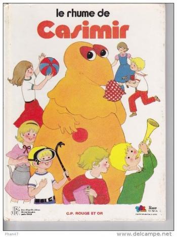 Couverture de l'album Casimir - 6. Le Rhume de Casimir