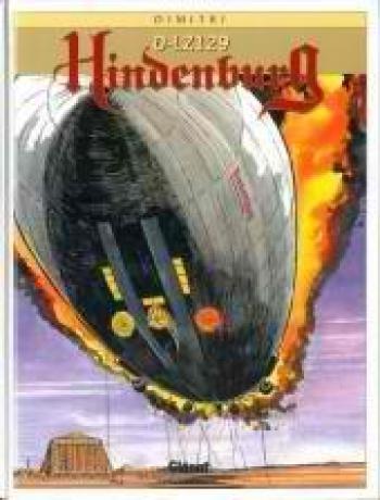 Couverture de l'album Hindenburg D-LZ 129 (One-shot)
