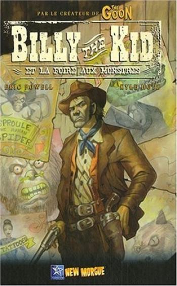Couverture de l'album Billy the Kid et la foire aux monstres (One-shot)