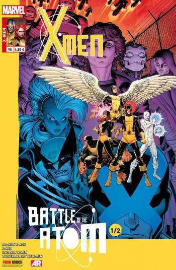Couverture de l'album X-Men (V4) - 9. La Bataille de l'atome (1/2)