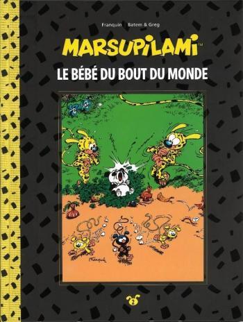 Couverture de l'album Marsupilami (Collection Hachette) - 2. Le Bébé du bout du monde