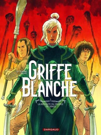 Couverture de l'album Griffe blanche - 2. La Révolte du peuple du singe