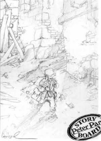 Couverture de l'album Peter Pan - HS. Story board