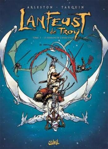 Couverture de l'album Lanfeust de Troy - 5. Le Frisson de l'haruspice