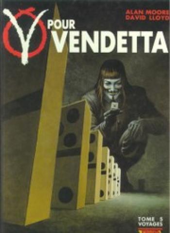 Couverture de l'album V pour Vendetta - 5. Voyages