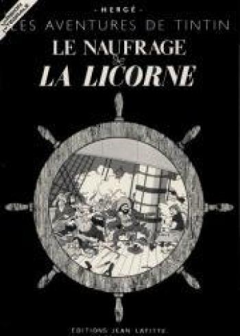 Couverture de l'album Tintin (Pastiches, parodies et pirates) - HS. Le Naufrage de la Licorne