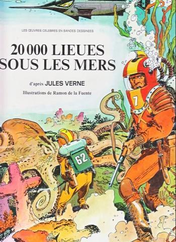 Couverture de l'album 20 000 lieues sous les mers (De la Fuente) (One-shot)